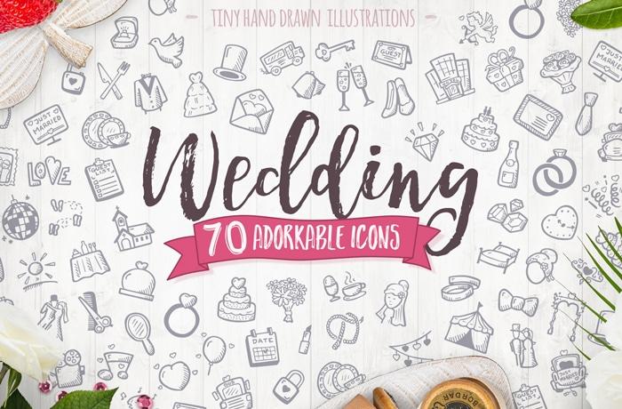 Wedding Icons Vector Premium Collection