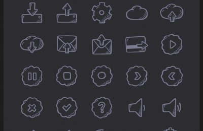 Hand Drawn E Learning Icons Cute Doodle Icon Pack