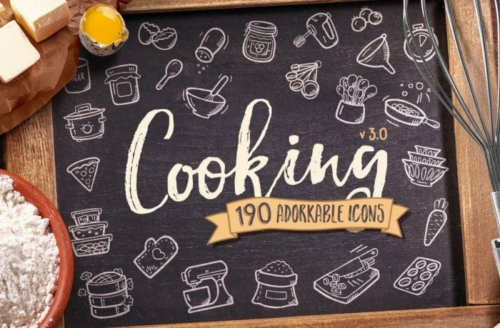 Cooking Icons – Premium