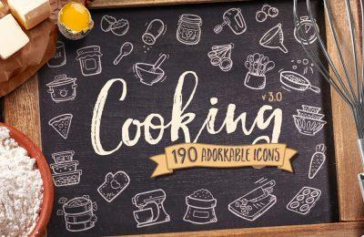 Cooking Icons - Premium
