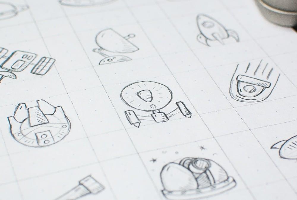 Space Icons – Sneak Peek 1