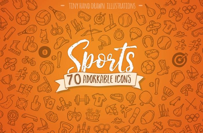 Hand Drawn Sports Icons